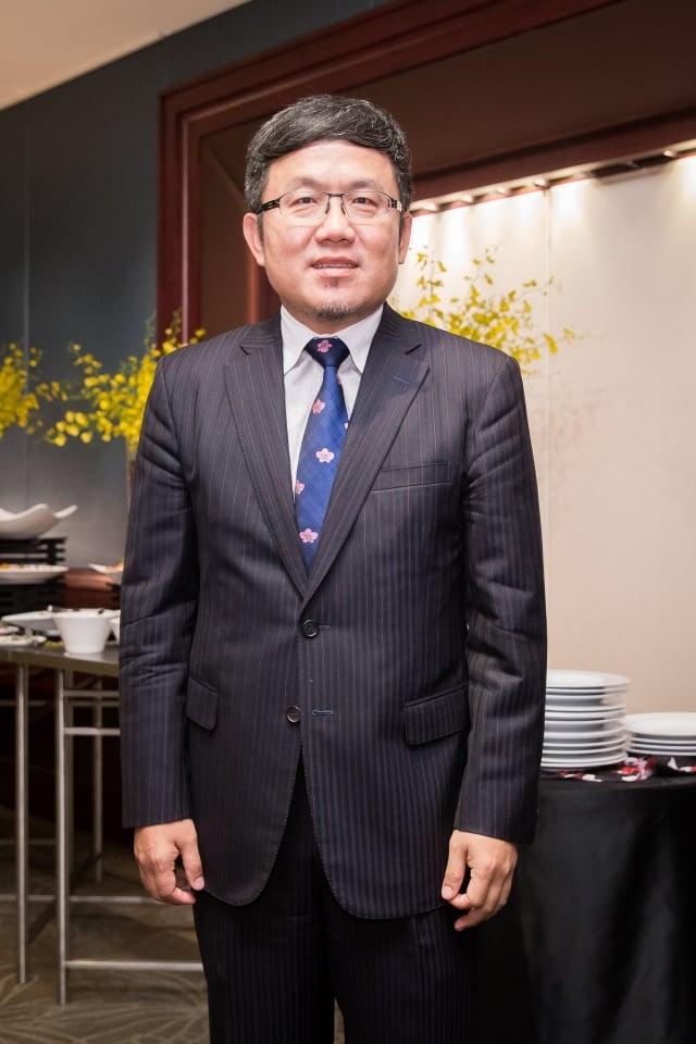 川普政府對印太夥伴加碼投資,外貿協會副董事長劉世忠表示,「這塊我們也解讀到,證明台灣兩年前開始推動新南向政策是正確」。(記者陳柏州/攝影)