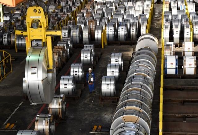美國國會研究處估計,在不到5個月的時間內,川普政府從鋼鋁關稅中獲得超過14億美元的新收入。(Getty Images)