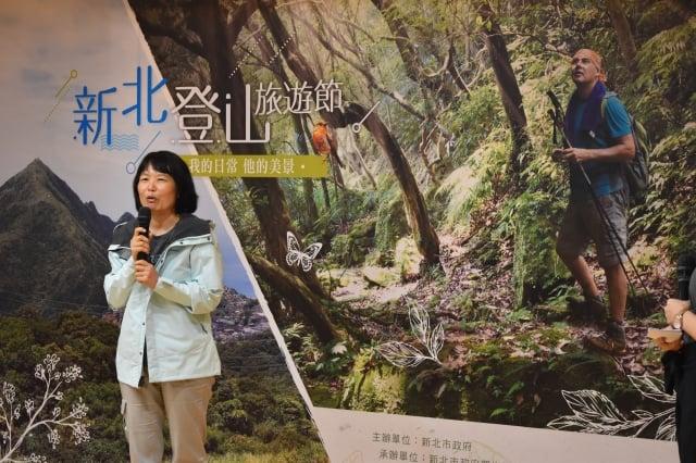 旅遊作家李慕瑾(新北市政府觀光局提供)