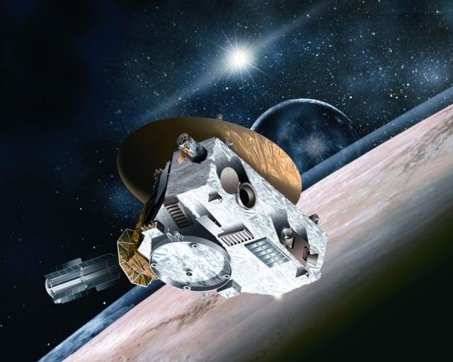 NASA發射的新視野號(New Horizons)探測器經過十幾年的旅行,如今接近太陽系邊緣。(NASA提供)