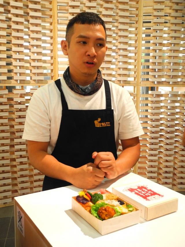 餐飲科畢業的洪偉鈞熱愛做料理。