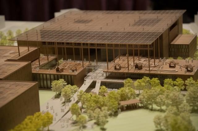國圖南館競圖,九典聯合建築師事務所以「小鎮大圖」的理念,獲得全數評選委員青睞。(國圖提供)