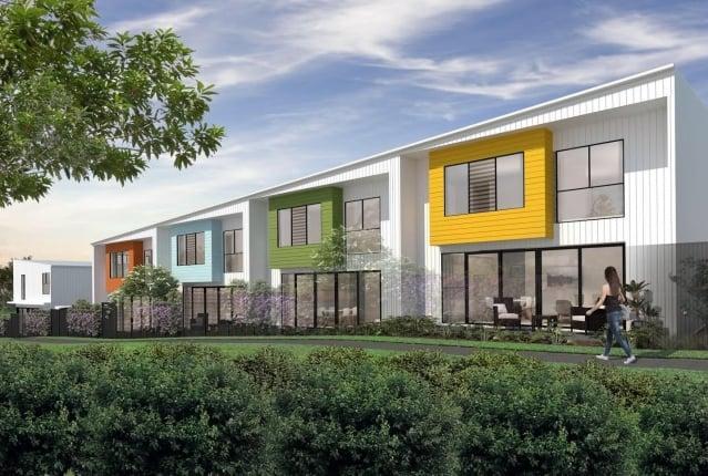 惠普開發推出黃金海岸公寓建案。(林淑敏提供)