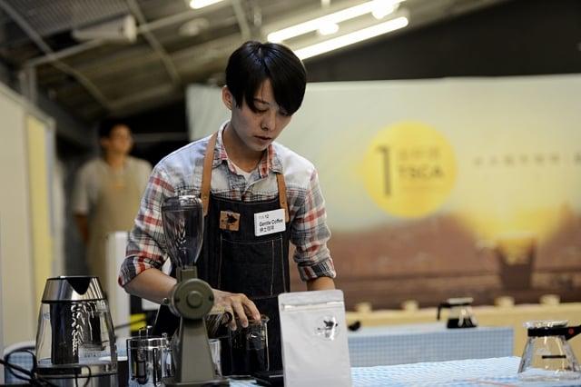 台北精品咖啡商業發展協會舉辦第一屆「台北城市咖啡品鑑大賞——TSCA金盃獎」,各方咖啡名店雲集。