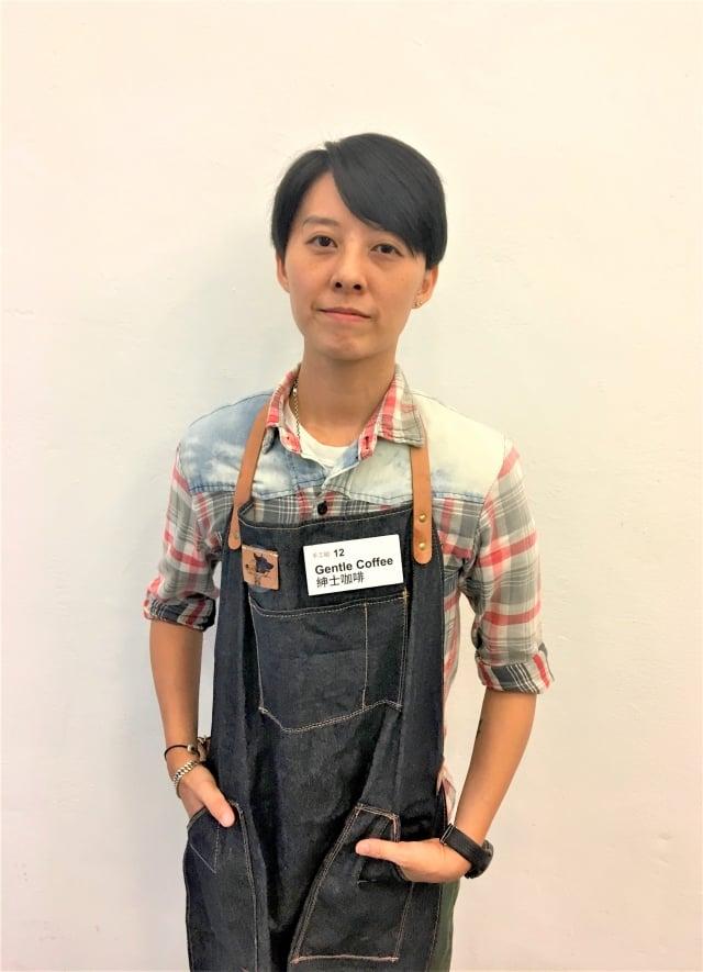 金盃獎手沖組獲獎店家「Gentle Coffee神士咖啡」,參賽咖啡師:陳昭君。