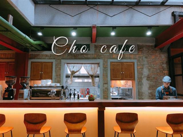 金杯獎義式組獲獎店家「cho café」。(cho café提供)