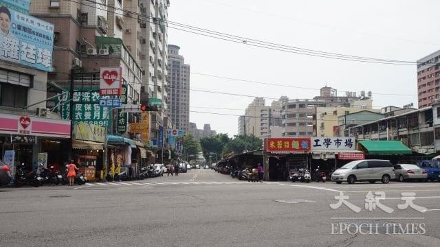 台中南區除了好事多,還有許多早市與黃昏市場,生活中大小事需要的店家都在附近。(謝平平/攝影)