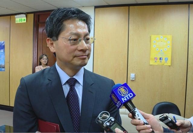 中梵將簽署教務協定,外交部發言人李憲章13日表示,無涉邦交議題。(新唐人電視台提供)