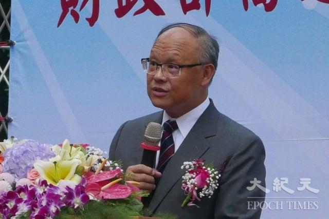 行政院政務委員兼經貿談判辦公室總代表鄧振中。(記者郭曜榮/攝影)