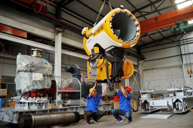 日本經濟研究中心指出,2018年1至6月東南亞主要5國的製造業生產指數,比去年同期提高6.2%,成長速度已逼近中國大陸。圖為示意照。(AFP)
