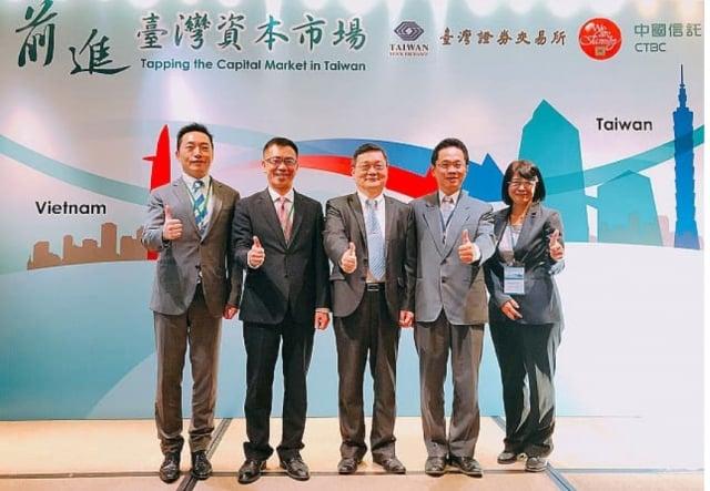 為推動新南向,證交所20日越南招商邀台商企業返台掛牌。(證券交易所提供)