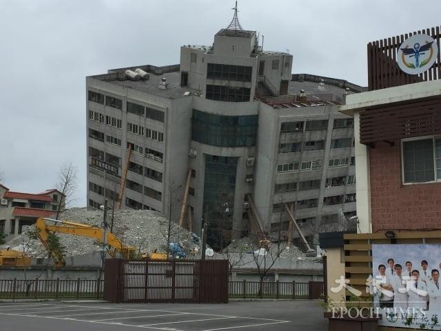 米崙斷層今年初造成花蓮地震。(記者謝平平/攝影)
