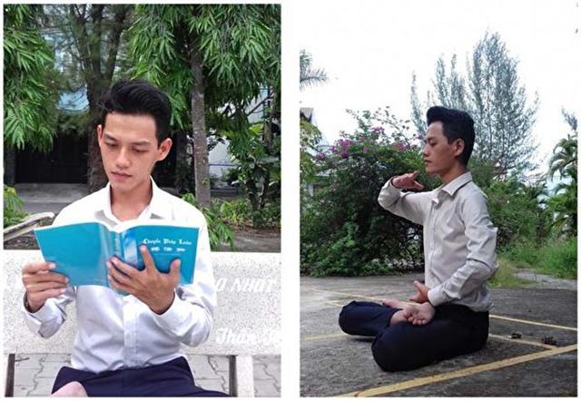 潘清海開始遵循法輪大法的教導。(DKN.tv)