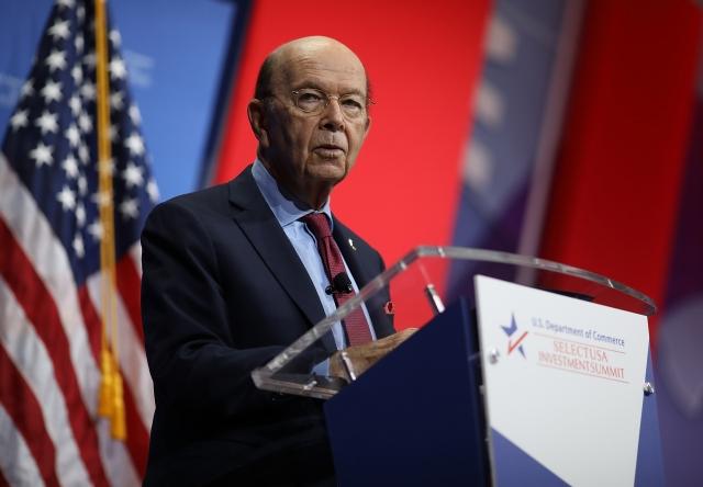 美國商務部長羅斯10月5日表示,「美墨加協定」阻止各方與中共簽訂自貿協議的條款,已開了先例。(Getty Images)