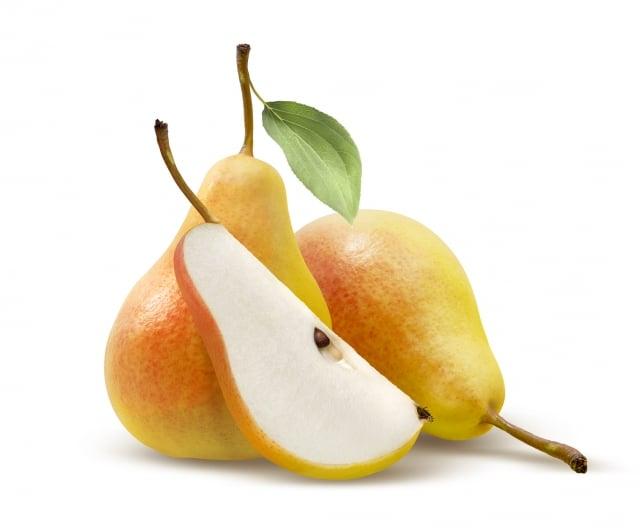 梨真正成熟後,其抗氧化劑含量會增加。(Fotolia)