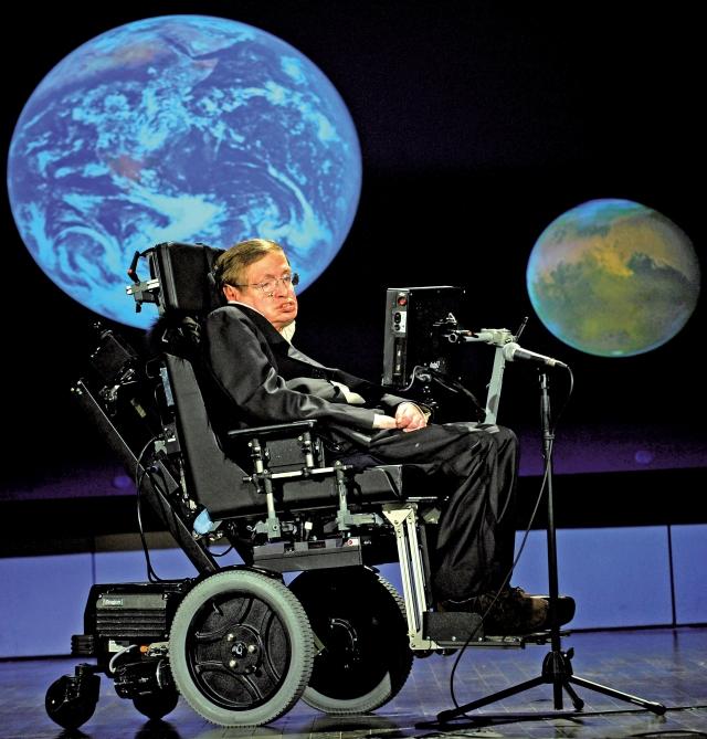 史蒂芬‧霍金(Stephen Hawking)這位英國著名物理學家,同時也是存活最 久的漸凍症患者。(Fotolia)