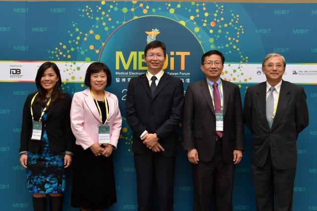 醫療電子與器材國際高峰論壇11、12日在台北登場,工研院生醫所所長林啟萬說,台灣醫材產業2020年要達到2,000億元產值目標。(工研院提供)