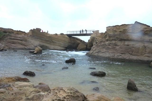 野柳海岸這精雕細琢的奇石世界(攝影/鄧玫玲)