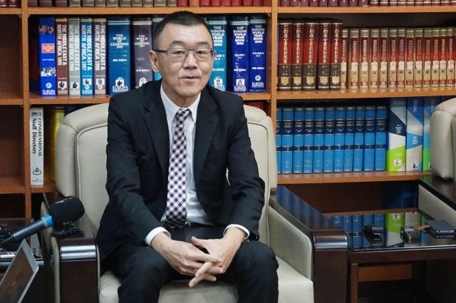 外交部亞東太平洋司副司長張均宇表示,台灣與印度近期也增加互動。(記者李怡欣/攝影)