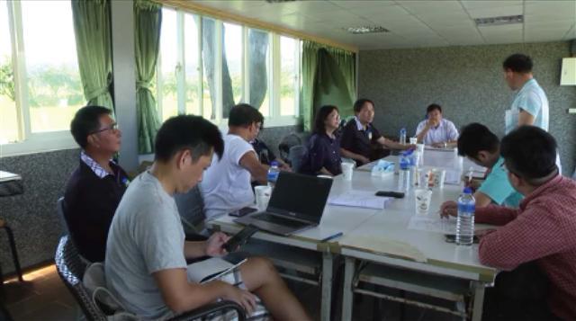 機關單位與民間團體針對安農溪營造工程討論會議。(攝影/李光輝)