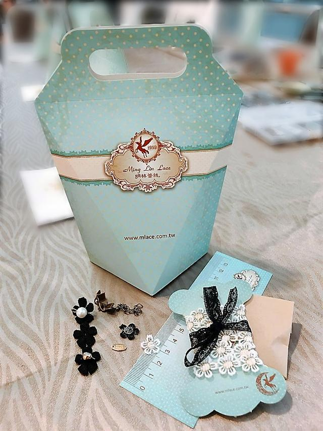 天昌網購DiY材料包(DiY鑽石袋),提供手作的材料、工具等。  (天昌服飾提供)