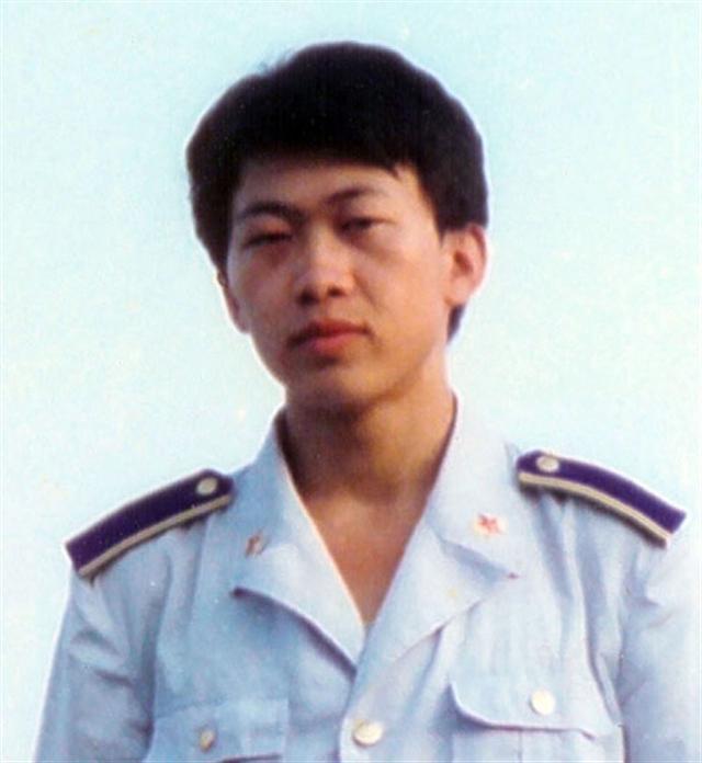 胡志明當空軍時的照片。(大紀元)