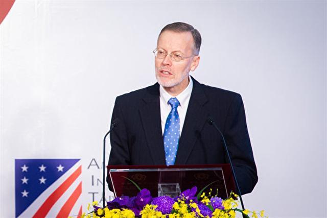 美國在台協會(AIT)處長酈英傑。(陳柏州/大紀元)