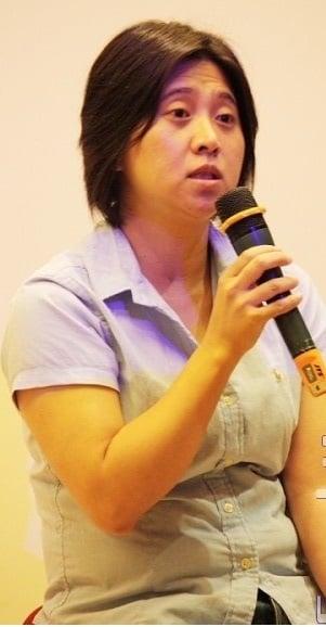 李亞梅認為,改善台灣電影困境,首先應該學會用數據化的思維方式來做電影。圖為李亞梅資料照。(徐翠玲/攝影)