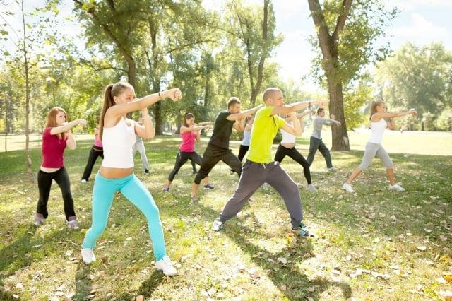 每天都要運動,運動可以促進腸胃蠕動。(Fotolia)