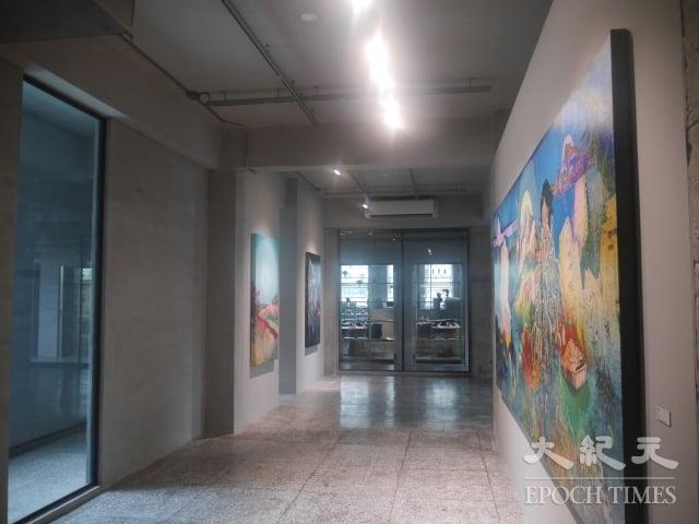 金馬賓館內空間分為9展廳、1咖啡館。(記者方金媛/攝影)