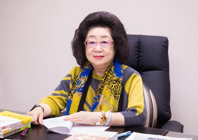 教育部政務次長范巽綠接受專訪,談及反毒教育需從小扎根。(攝影/陳柏州)