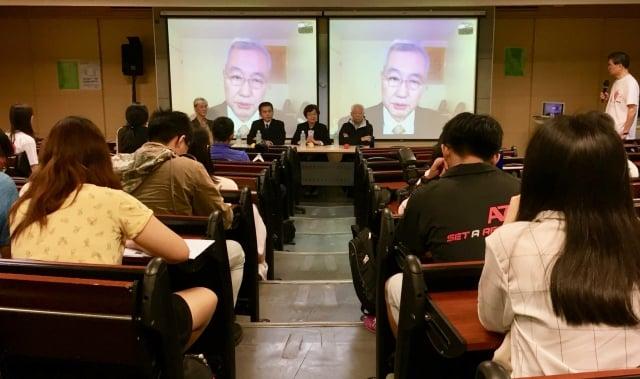 《活摘.十年調查》12月6日在台灣國立臺灣師範大學放映。(記者蘇蓉蓉/攝影)