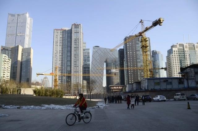 中國房企陷入寒冬,一旦房企資金鏈斷裂、破產,將會造成銀行大量壞帳,甚至有可能觸發金融危機。(Getty Images)