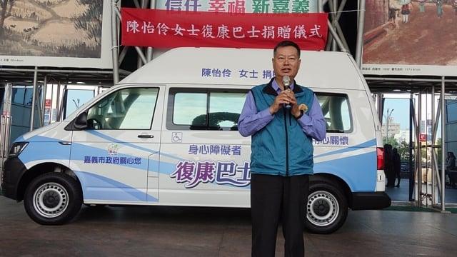 陳彥良先生說,期望復康巴士能幫助有需要的人,方便行動,減輕生活上的負擔。