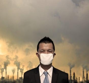 【王健專覽】黃沙Asian dust PM2.5