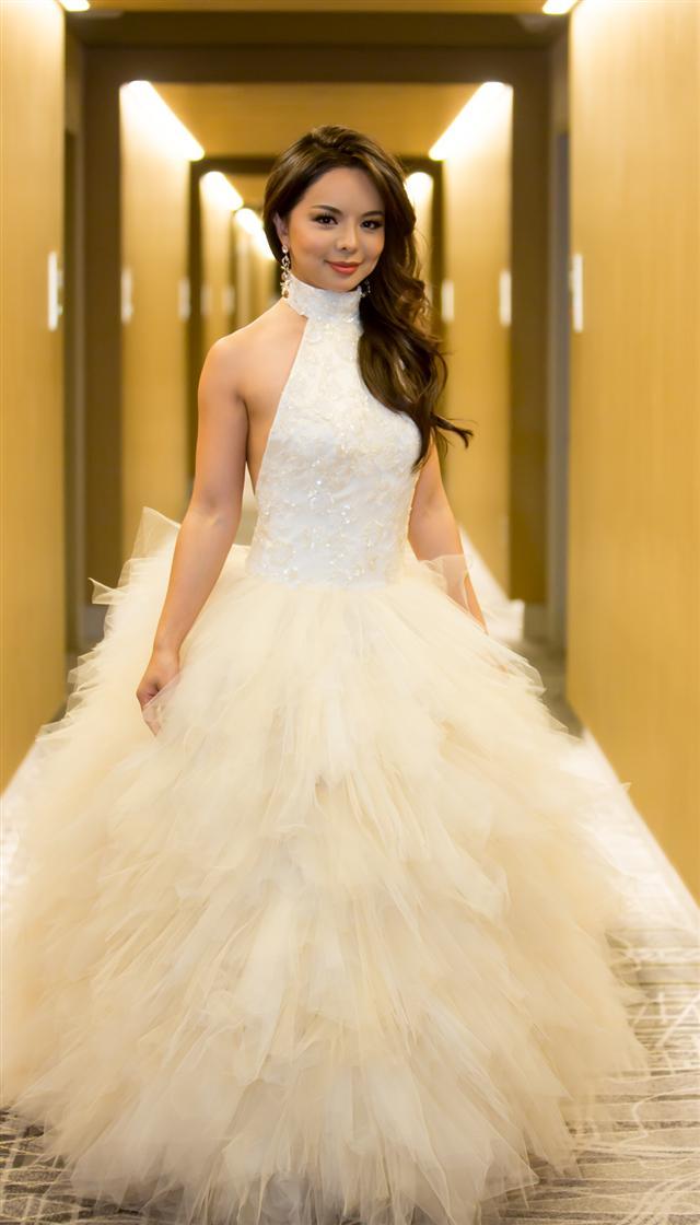 2016年12月18日,林耶凡參加在華盛頓D.C.近郊米高梅(MGM)酒店的劇場舉行的世界小姐決賽。(記者李莎/攝影)