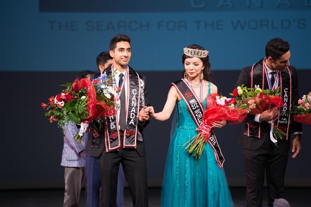 世界小姐加拿大區決賽(Miss World Canada)5月16日在溫哥華舉行,多倫多華裔女孩Anastasia Lin脫穎而出,榮獲冠軍。(記者景浩/攝影)