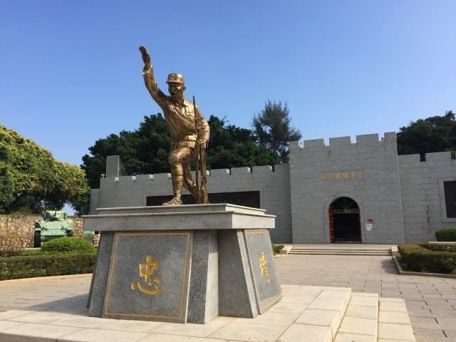 金門古寧頭戰史館。(記者蘇蓉蓉/攝影)