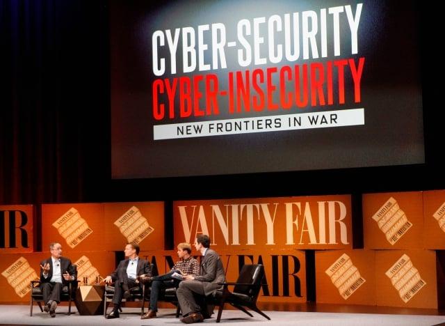 美國網路安全FireEye在9月的報告說,APT10已升級其惡意軟體,使人更難以檢測。圖為2014年10月在加州的網路安全研討會。(Kimberly White/Getty Images for Vanity Fair)
