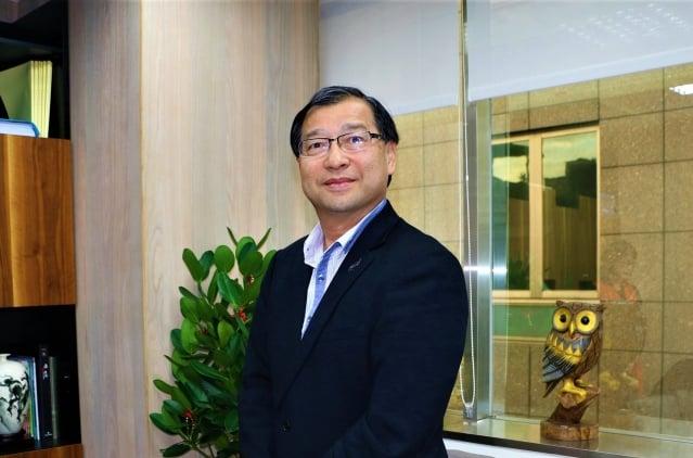 力麗觀光開發董事長蔡宗易。(謝嘉祝/攝影)