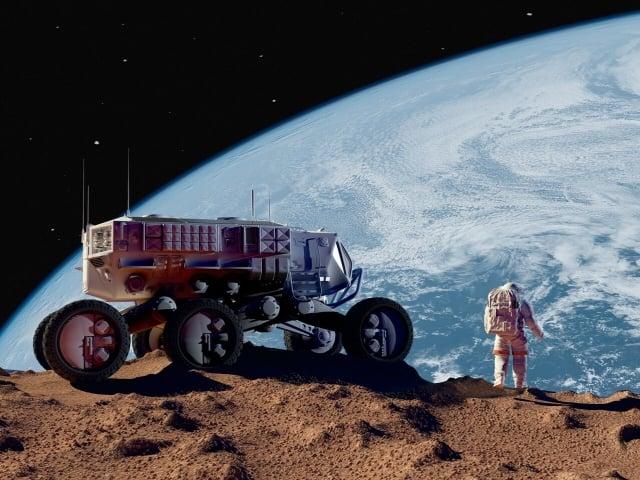NASA近期推出的時間表稱,人類至少還需25年時間才能登陸火星。在這之前,人類得為登陸火星做足「功課」。如何保護人類自身以及火星的環境,就是重要的準備內容之一。(ShutterStock)
