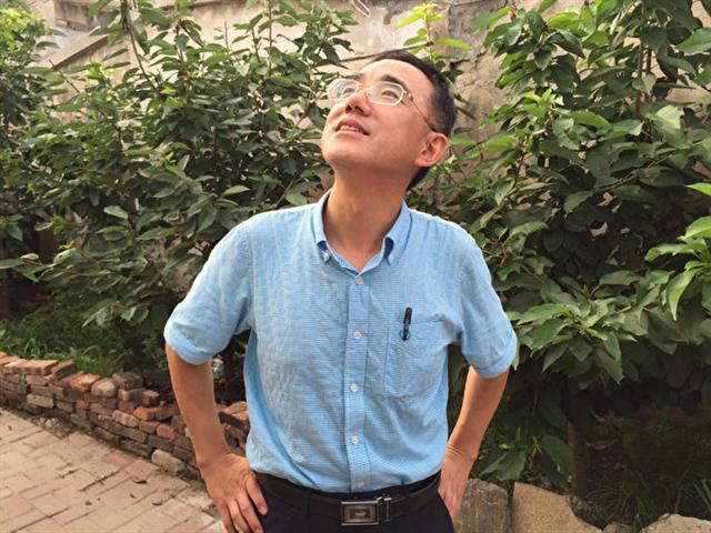 孫毅2016年在瀋陽。(作者提供)