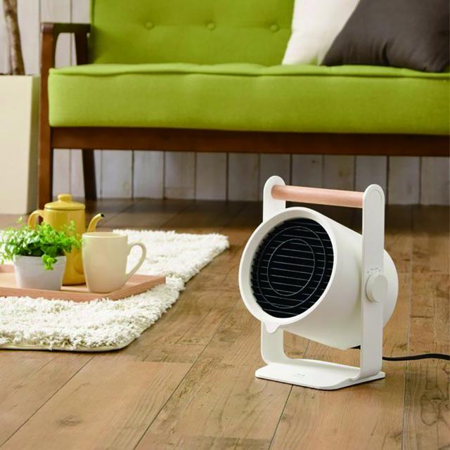 小型電暖器輕巧不占空間,是冬日居家良伴。(業者提供)