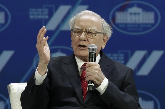 被視為股市投資傳奇的巴菲特。資料照。(AFP)