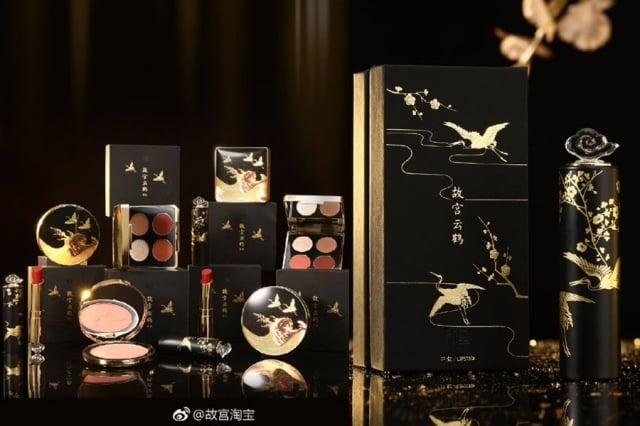 1月5日,「故宮淘寶」宣布故宮淘寶彩妝因品質問題「全線停產」。(故宮淘寶微博)