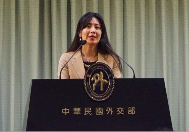 外交部副發言人歐江安。(記者李怡欣/攝影)
