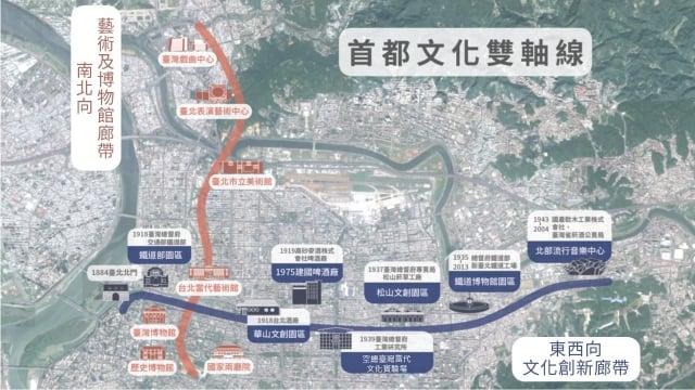 文化部長鄭麗君表示,隨著華山和空總兩大計畫的發展,文化部將拼上首都文化雙軸線的關鍵拼圖。(文化部提供)