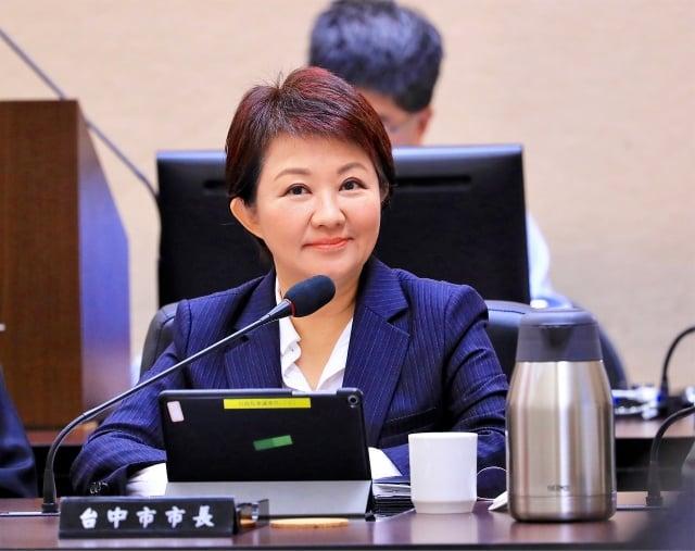 市長盧秀燕出席行政院第3634次會議,於會中爭取2020台灣燈會主辦權。