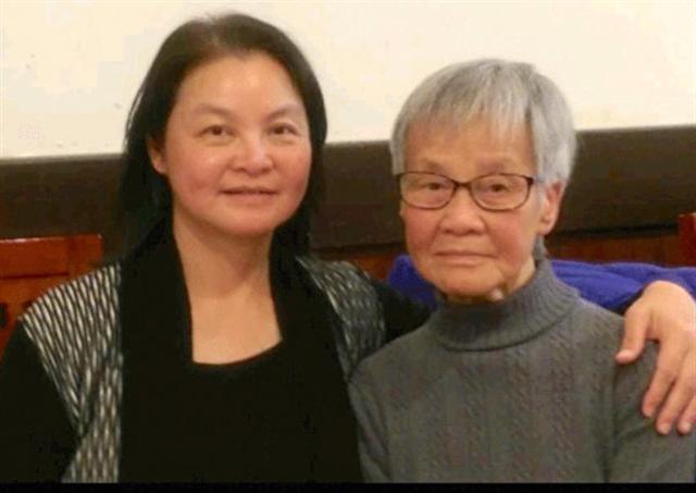Kathy Ma和母親在一起。(Kathy Ma提供)