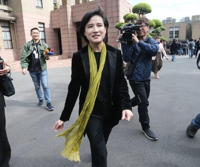 蘇貞昌也給予鄭麗君(圖)承諾,全力支持她所關切的空總、華山、中正紀念堂轉型等重要改革案。(中央社)